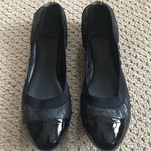 "Tory Burch ""Bridgette ballet"" flats never worn"